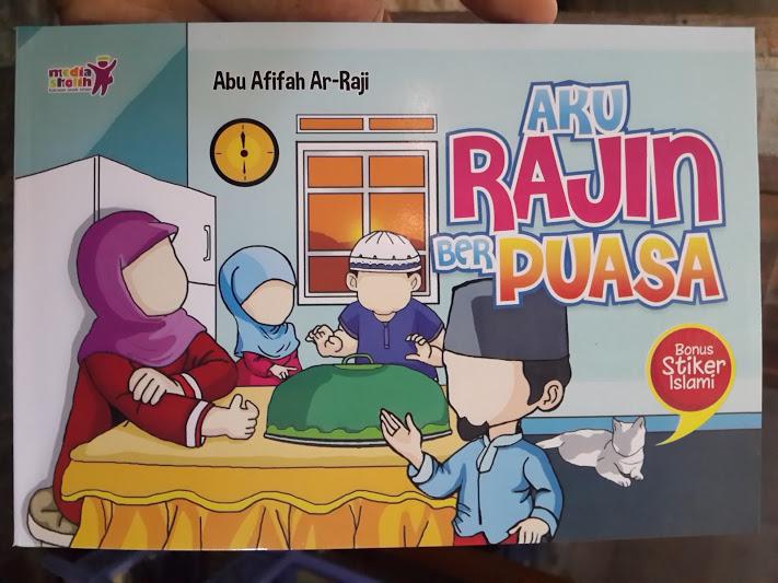 Buku Anak Aku Rajin Puasa Cover