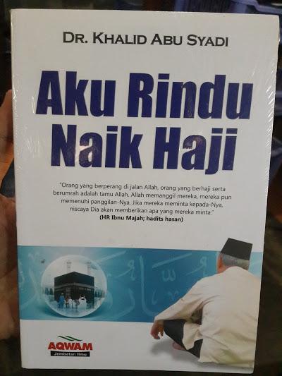 Buku Aku Rindu Naik Haji Cover