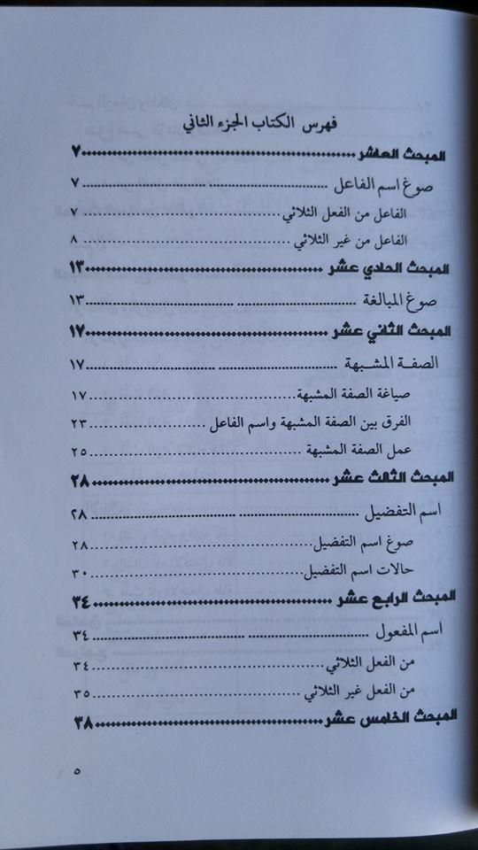 Kitab Al-Qowa'id Ash-Shorfiyah isi