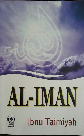 Buku Al-Iman Ibnu Taimiyah Cover