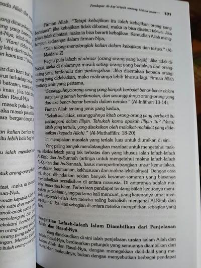 Buku Al-Iman Ibnu Taimiyah Isi