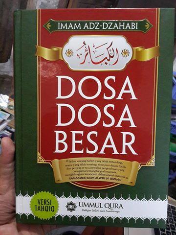 Buku Al-Kabair Dosa Dosa Besar Cover