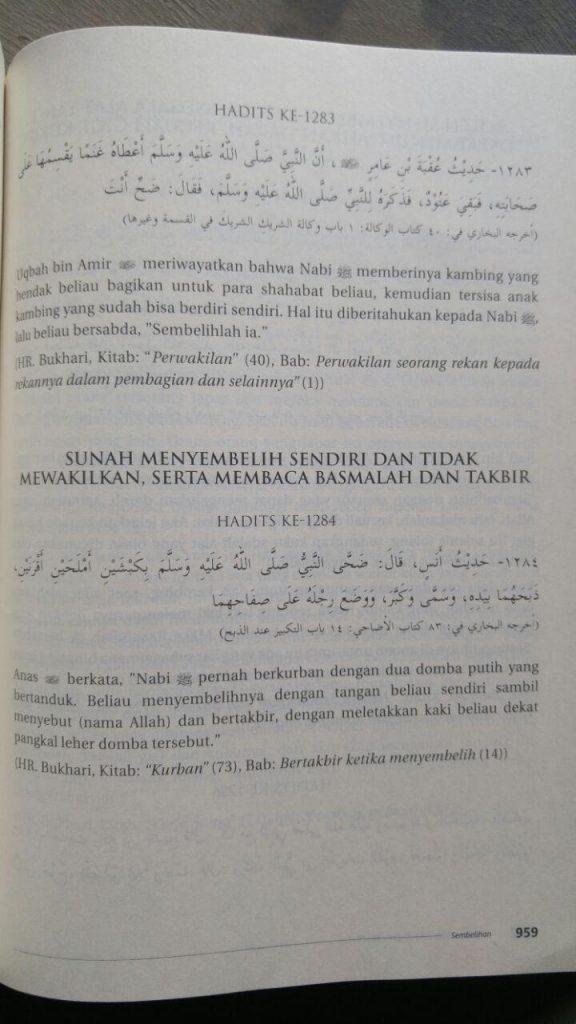 Buku Al-Lu'Lu' Wal Marjan Mutiara Hadis Sahih Bukhari Muslim isi 2