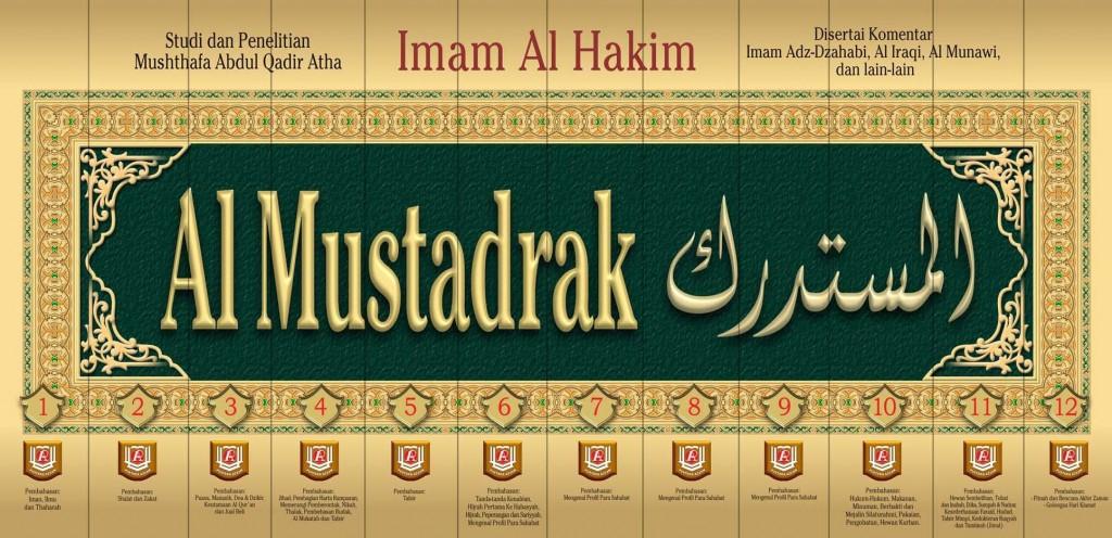 Buku Al-Mustadrak Imam Al-Hakim Set