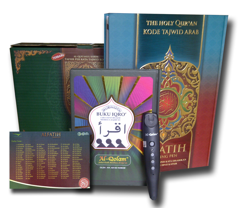Al-Quran Al-Fatih Plus Talking Pen Lengkap