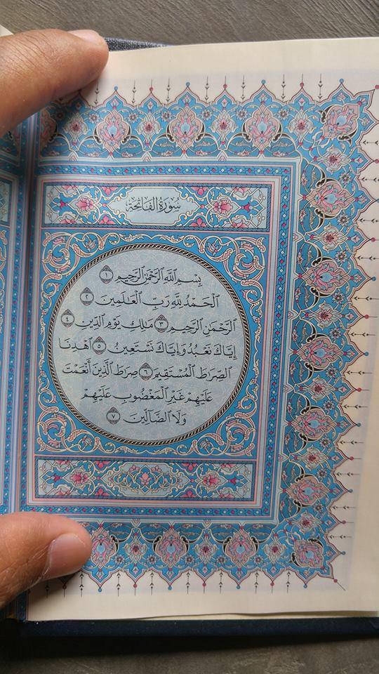 Al-Qur'an Mushaf Asli Madinah Ukuran A6 isi 2
