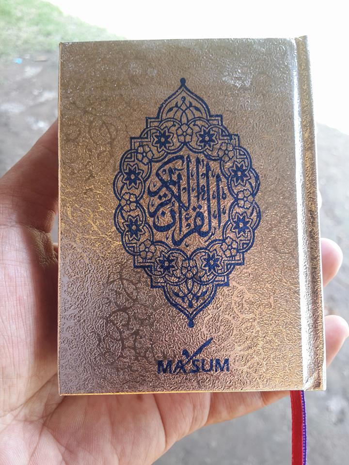 Al-Qur'an Saku Dan Ilmu Tajwid Ma'sum Cover