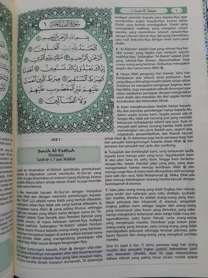 Al-Qur'an Terjemah Tafsir Al-Muyassar Mushaf Madinah Isi 3