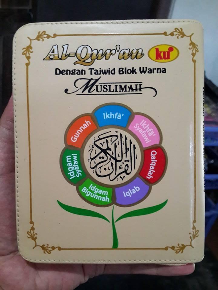 Al-Quranku Dengan Tajwid Blok Warna Muslimah Cover