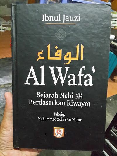 Buku Al-Wafa Sejarah Nabi Berdasarkan Riwayat Cover