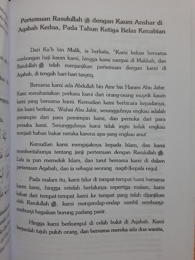 Buku Al-Wafa Sejarah Nabi Berdasarkan Riwayat Isi