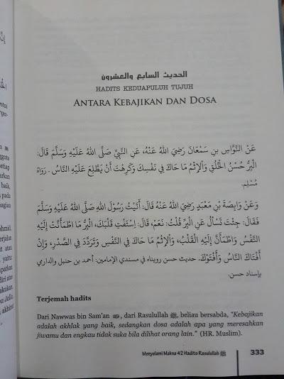 al-wafi-syarBuku Al-Wafi Syarah Hadits Arbain An-Nawawi Isi