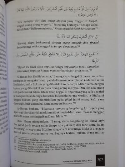 Buku Al-Wala' Wal Bara' Loyalitas Permusuhan Dalam Islam Isi