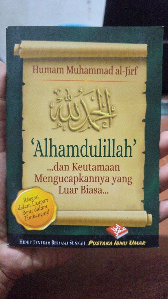 Buku Saku Alhamdulillah Dan Keutamaan Mengucapkannya cover