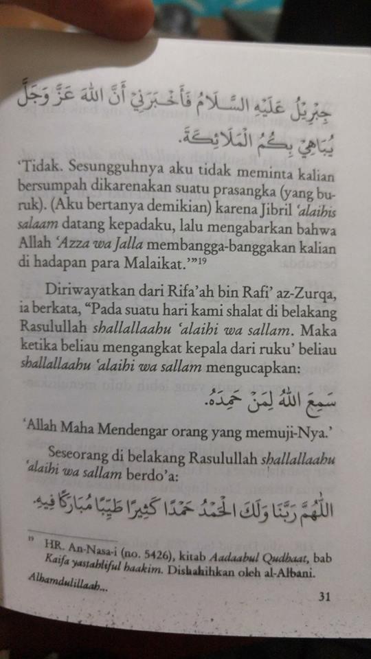 Buku Saku Alhamdulillah Dan Keutamaan Mengucapkannya isi 2