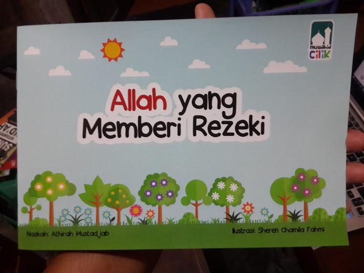Buku Anak Allah Yang Memberi Rezeki Cover