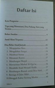 Buku Amal Jariyah Amal Yang Langgeng isi 4