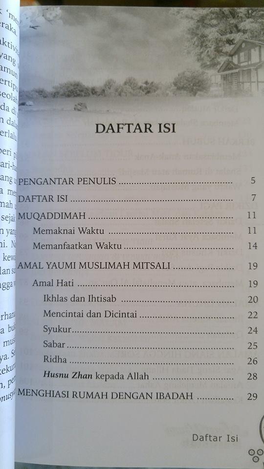amal yaumi untuk muslimah buku isi 2