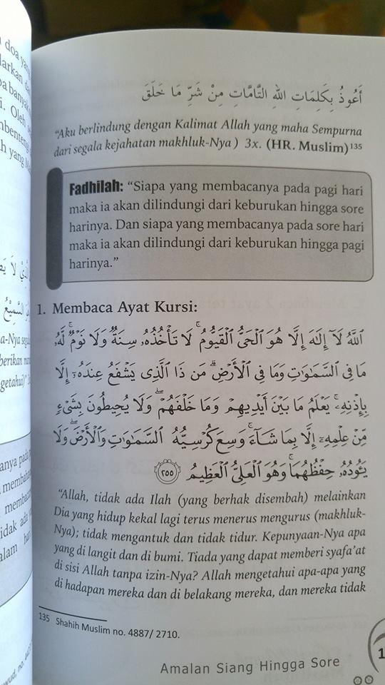 amal yaumi untuk muslimah buku isi