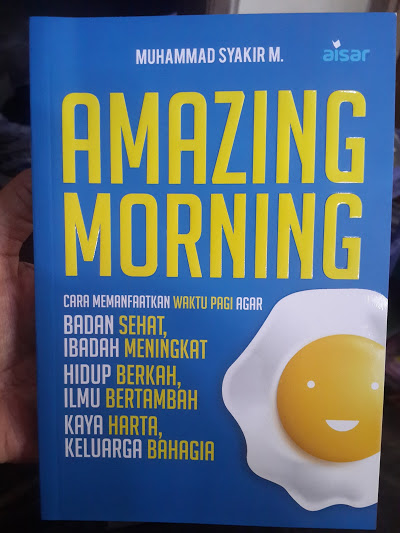 Buku Amazing Morning Cara Memanfaatkan Waktu Pagi Cover