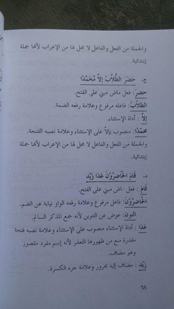 Kitab Amtsilatul I'rab isi