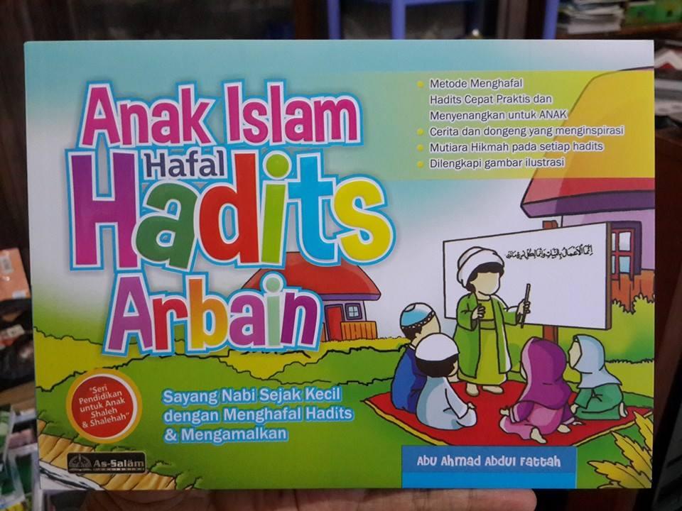 Buku Anak Islam Hafal Hadist Arbain Cover