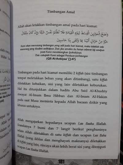Buku Aqidah Imam Al-Muzani Murid Imam Asy-Syafi'i Isi