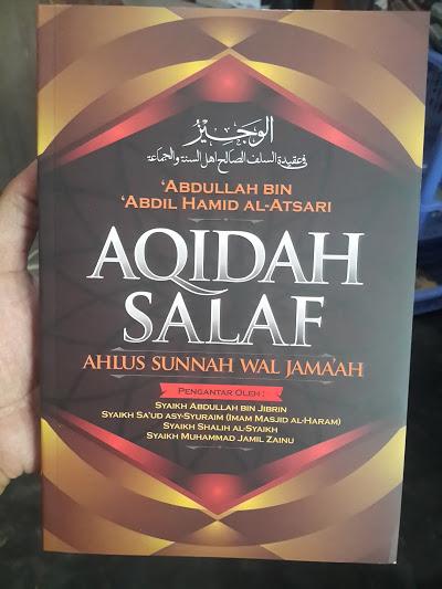 Buku Aqidah Salaf Ahlus Sunnah Wal Jama'ah Cover