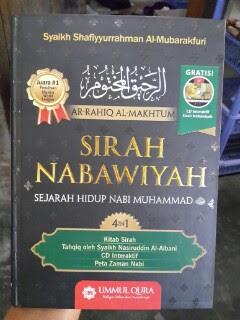 Buku Ar-Rahiq Al-Makhtum Sirah Nabawiyah Sejarah Nabi Cover