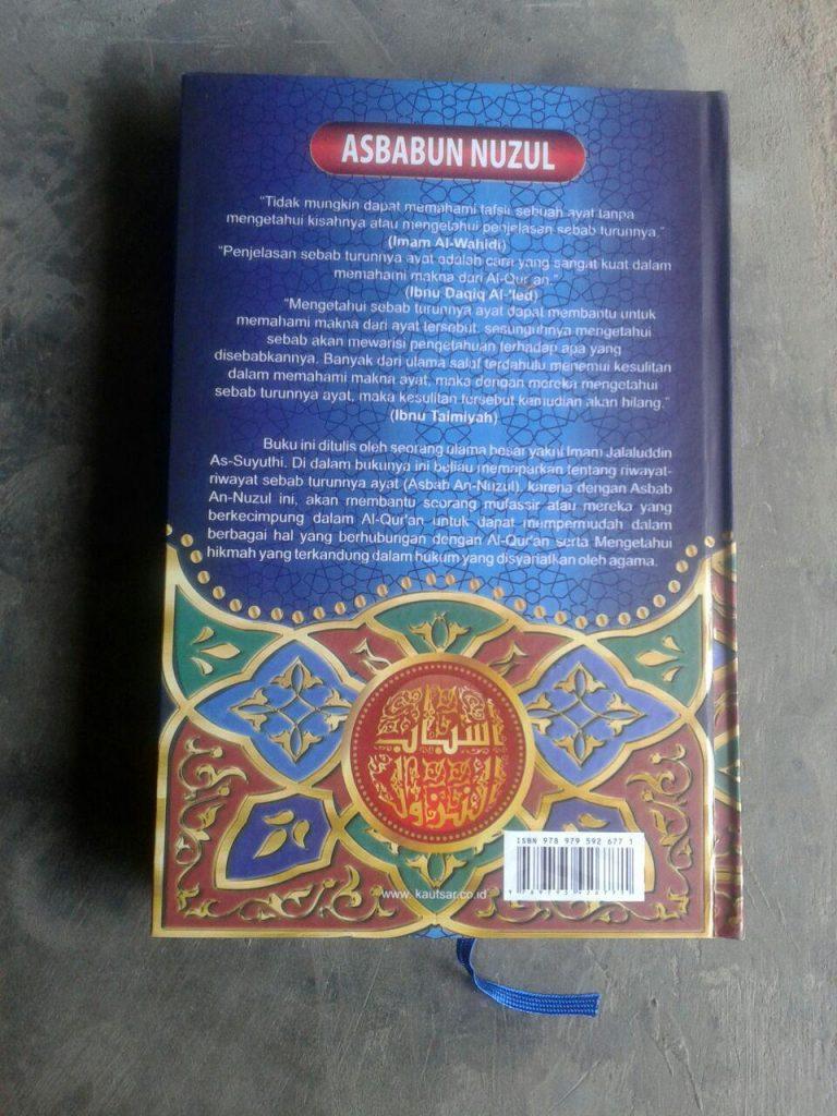 Buku Asbabun Nuzul Sebab-Sebab Turunnya Ayat Al-Qur'an cover