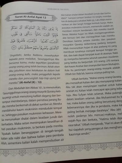 Buku Asbabun Nuzul Penjelasan Lengkap Sebab Turunnya Ayat Al-Quran Cover Isi
