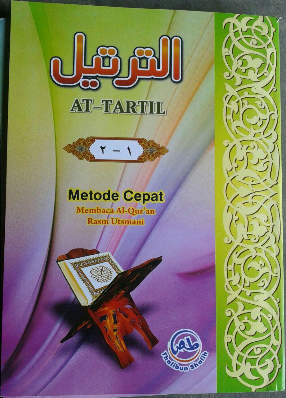 Buku At-Tartil Metode Cepat Membaca Al-Quran 1 set 3 jilid cover