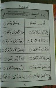 Buku At-Tartil Metode Cepat Membaca Al-Quran 1 set 3 jilid isi