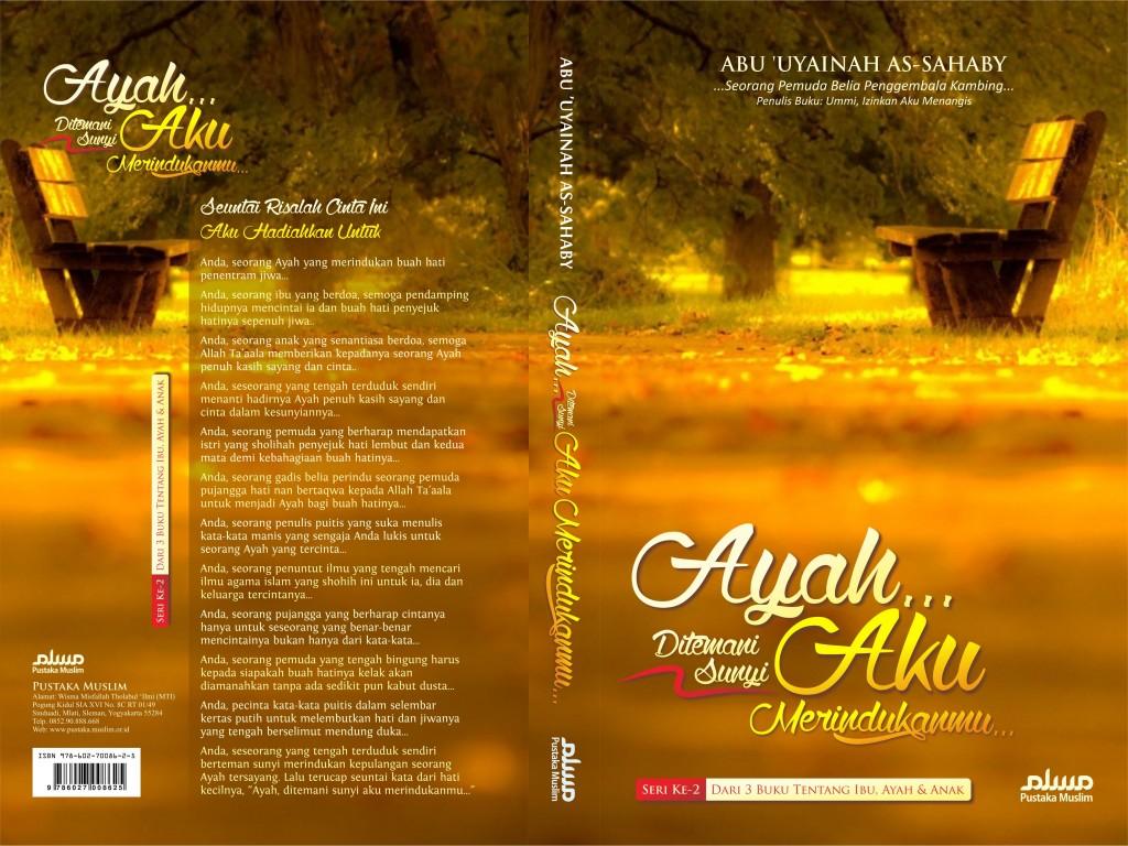 Buku Ayah Ditemani Sunyi Aku Merindukanmu Cover