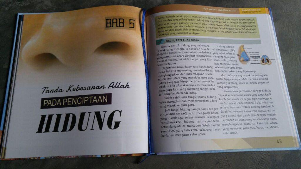 Buku Ayat Ayat Allah Pada Tubuh Manusia isi