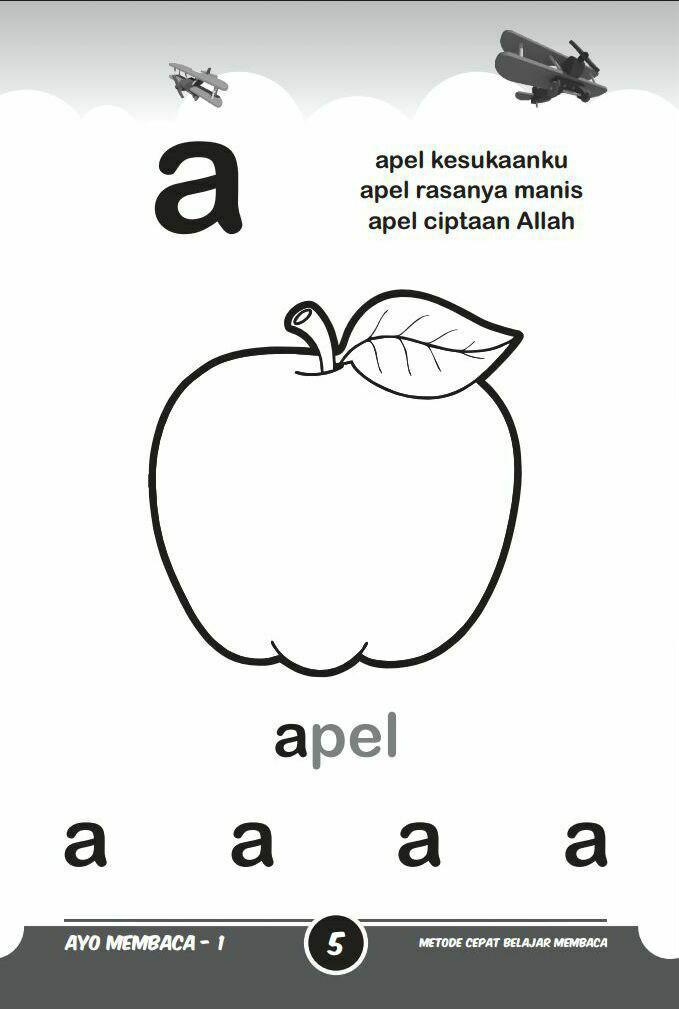 Buku Anak Ayo Membaca Metode Cepat Belajar Membaca Isi 2