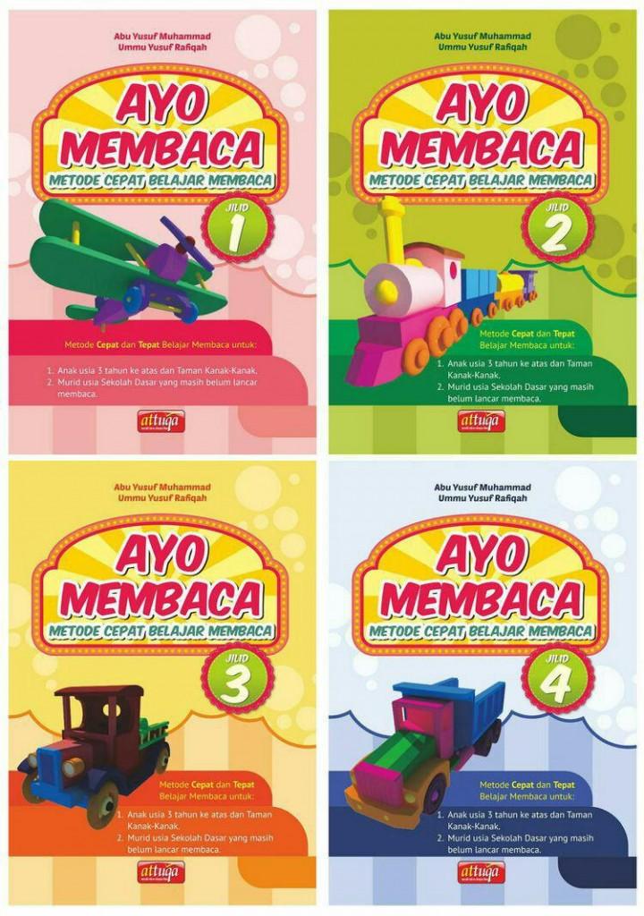 Buku Anak Ayo Membaca Metode Cepat Belajar Membaca Set