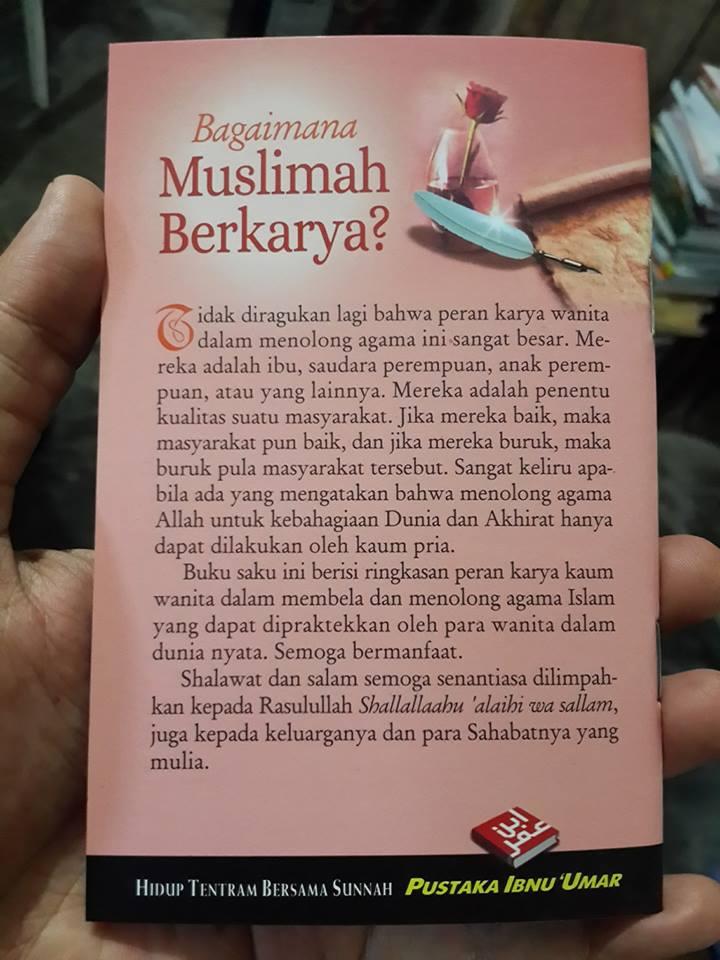 Buku Saku Bagaimana Muslimah Berkarya Cover 2