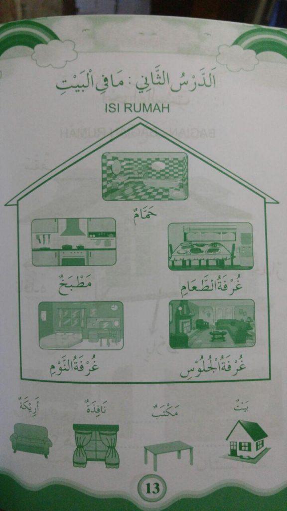 Buku Bahasa Arab Untuk Anak isi 2