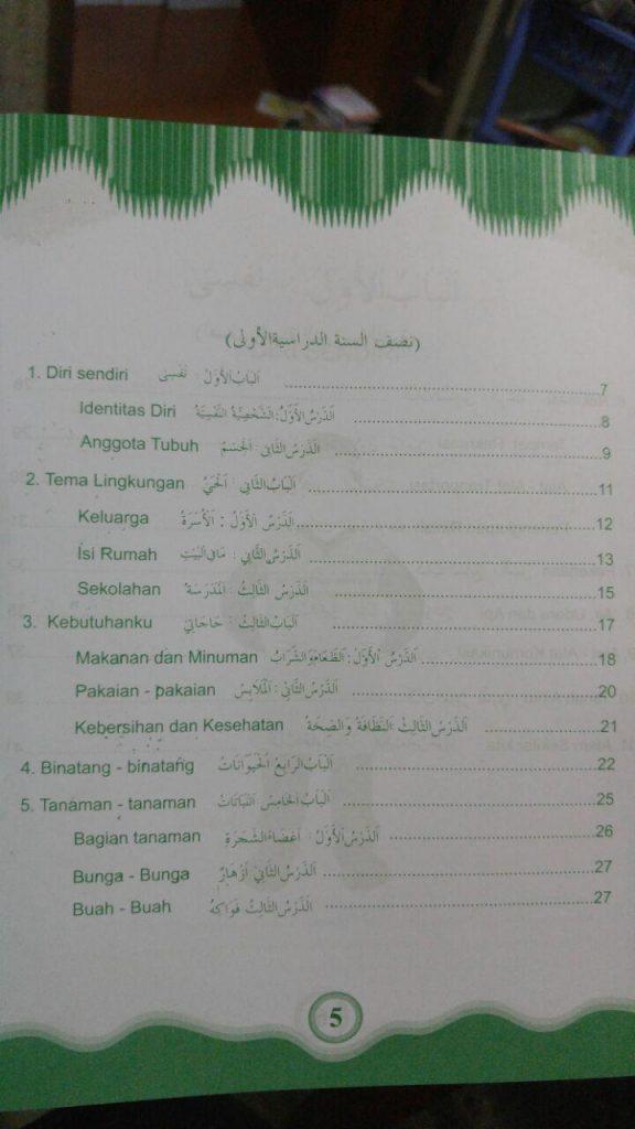 Buku Bahasa Arab Untuk Anak isi 3