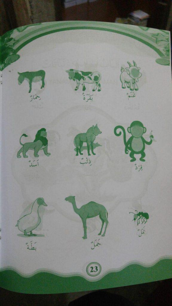 Buku Bahasa Arab Untuk Anak isi