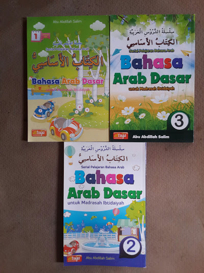 Buku Bahasa Arab Dasar Untuk Madrasah Ibtidaiyah Set