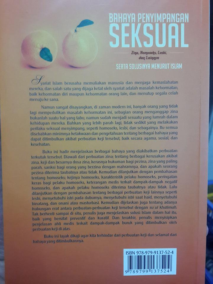 bahaya penyimpangan seksual buku cover 2