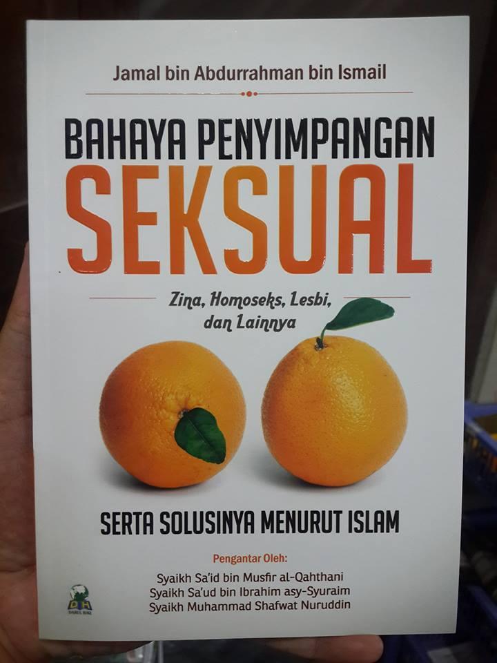 bahaya penyimpangan seksual buku cover