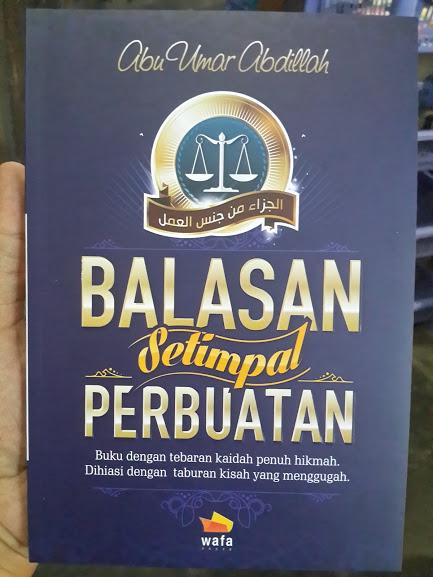 Buku Balasan Setimpal Perbuatan Cover