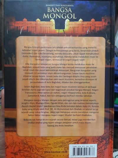 Buku Bangkit Dan Runtuhnya Bangsa Mongol Cover 2