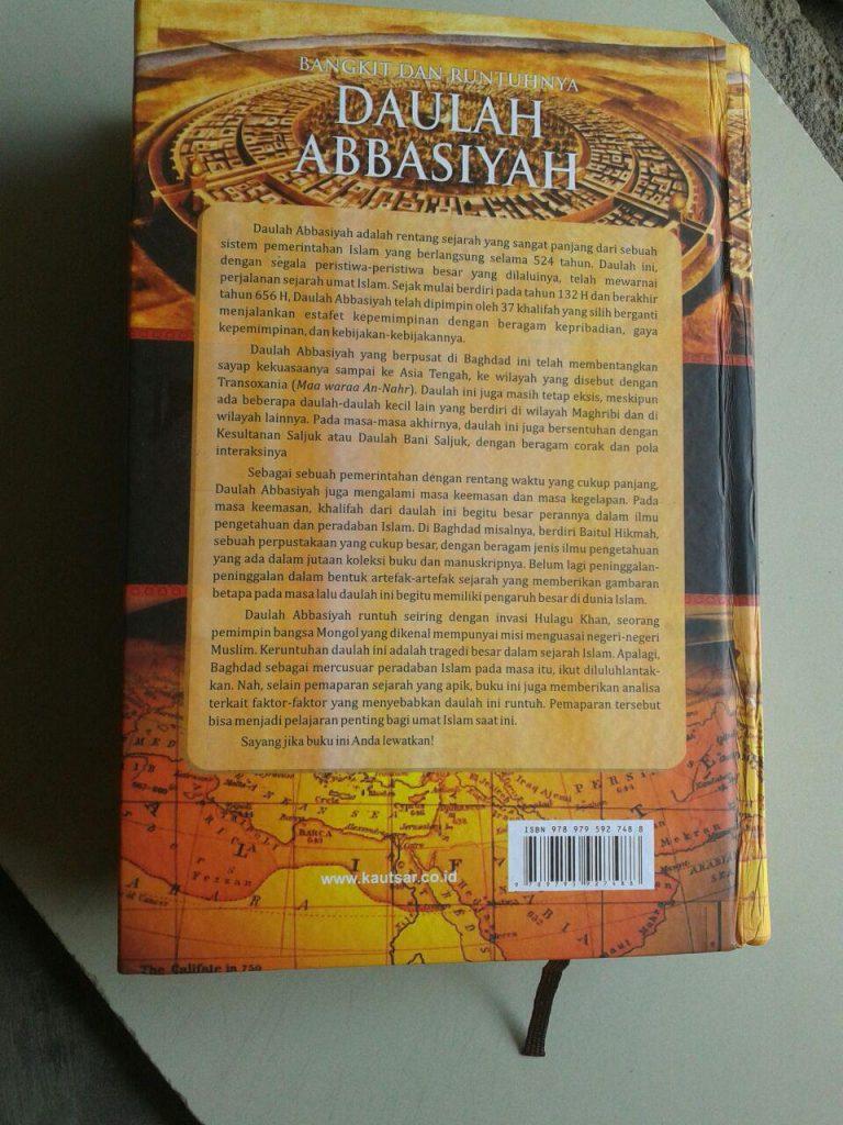 Buku Bangkit Dan Runtuhnya Daulah Abbasiyah cover