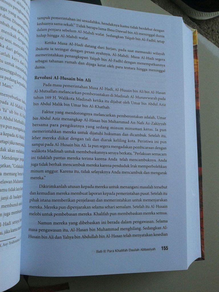 Buku Bangkit Dan Runtuhnya Daulah Abbasiyah isi 3