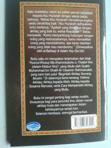 Buku Saku Beginilah Akhlak Seorang Muslim cover
