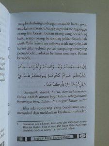 Buku Saku Beginilah Akhlak Seorang Muslim isi 2